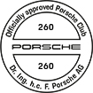Officially approved Porsche Club 260